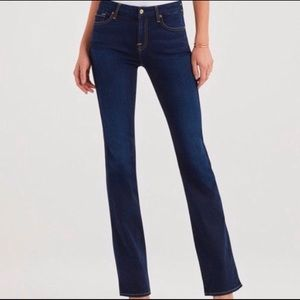 7 For All Mankind Kimmie Bootcut Mid-rise Jeans size 26